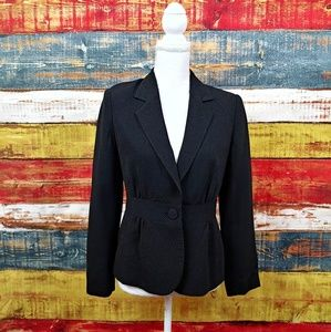 White House Black Market Dot Blazer Size 6 S13
